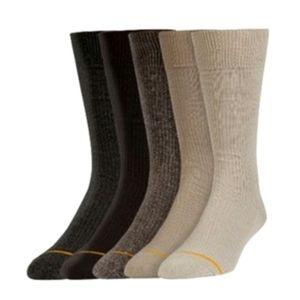 Signature Gold Toe Men's DOT Crew Socks WT1